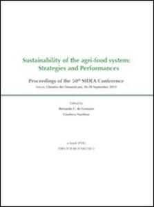 Sustainability of the agri-food system: strategies and performances