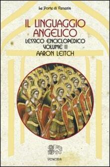 Fondazionesergioperlamusica.it Il linguaggio angelico. Vol. 2: Lessico enciclopedico. Image