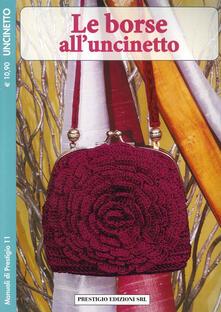 Writersfactory.it Le borse all'uncinetto. Uncinetto Image