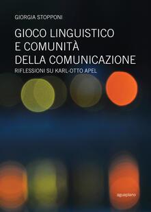 Criticalwinenotav.it Gioco linguistico e comunità della comunicazione. Riflessioni su Karl-Otto Apel Image