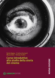 Corso introduttivo allo studio della storia del cinema - copertina