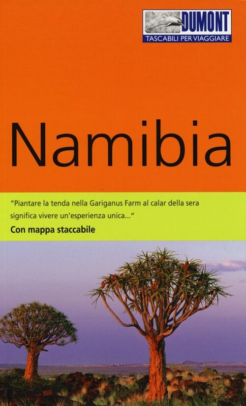 Namibia. Con mappa