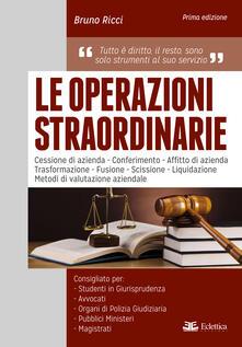 Le operazioni straordinarie.pdf