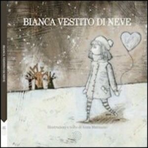 Bianca vestito di neve