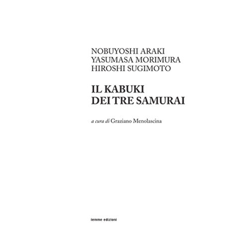 Il kabuki dei tre samurai