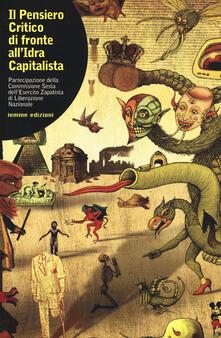 Voluntariadobaleares2014.es Il pensiero critico di fronte all'idra capitalista. Partecipazione della commissione sesta dell'esercito zapatista di Liberazione Nazionale Image