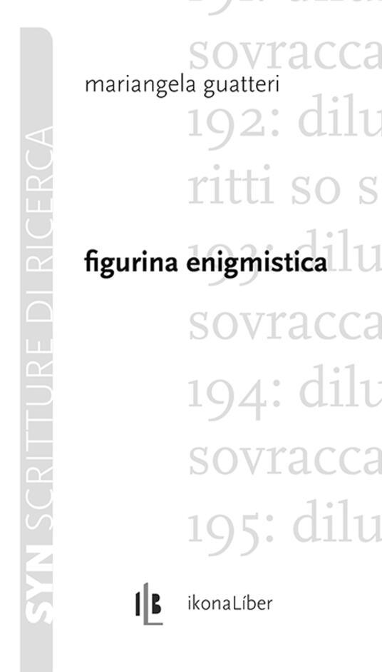 Figurina enigmistica - Mariangela Guatteri - copertina