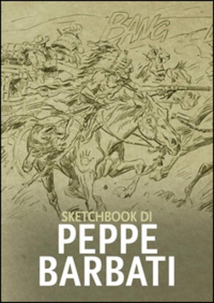 Sketchbook di Peppe Barbati - copertina