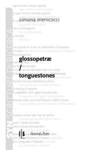 Libro Glossopetrae. Tonguestones Simona Menicocci
