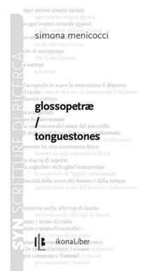 Glossopetrae. Tonguestones - Simona Menicocci - copertina