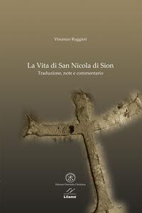La vita di san Nicola di Sion. Testo greco a fronte