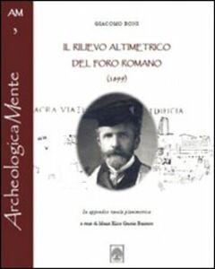 Il rilievo altimetrico del Foro Romano (1899)