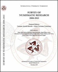 Survey of numismatic research 2008-2013