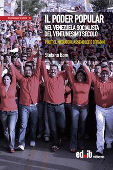 Associazionelabirinto.it Il Poder Popular nel Venezuela socialista del ventunesimo secolo. Politici, mediatori, assemblee e cittadini Image