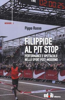 Winniearcher.com Filippide al pit stop. Performance e spettacolo nello sport post-moderno Image