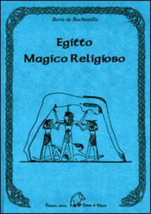Egitto magico religioso - Boris De Rachewiltz - copertina
