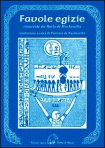 Favole egizie - Boris De Rachewiltz - copertina