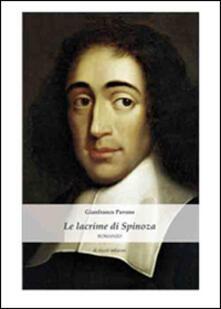 Le lacrime di Spinoza - Gianfranco Pavone - copertina