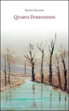 Quarta dimensione - Renato Solofra - copertina