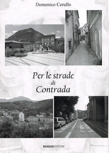Per le strade di Contrada - Domenico Cerullo - copertina