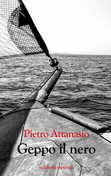 Geppo il nero - Pietro Attanasio - copertina