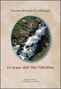 Le acque in Alta Valtellina