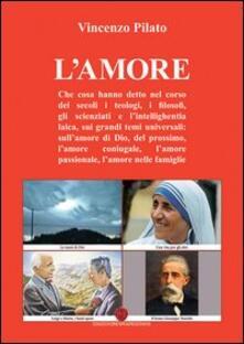 L' amore - Vincenzo Pilato - copertina