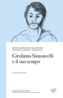 Girolamo Simoncelli e il suo tempo - copertina