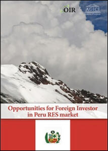 Opportunities for foreign investor in Perù RES market