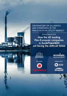 How the 40 leading Pan-European companies in gas&power&oil are facing the difficult times - copertina
