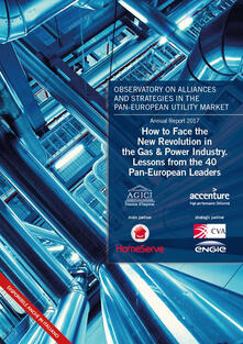 How to face the new revolution in the gas & power industry. Lessons from the 40 Pan-European Leaders - copertina