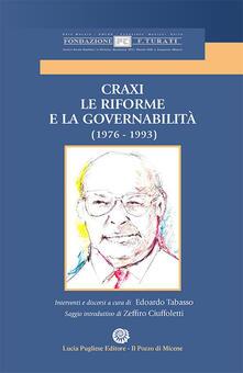 Osteriacasadimare.it Craxi. Le riforme e la Governabilità (1976-1993) Image