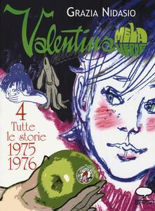 Valentina Mela Verde. Vol. 4: Tutte le storie 1975-1976. - Grazia Nidasio - copertina