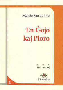 En gojo kaj ploro - Manjo Verdulino - copertina