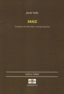 Male. Testo catalano a fronte - Jordi Valls - copertina