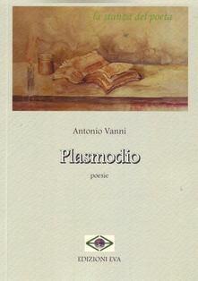 Plasmodio - Antonio Vanni - copertina