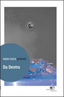 Da dentro - M. Teresa Bernardi - copertina