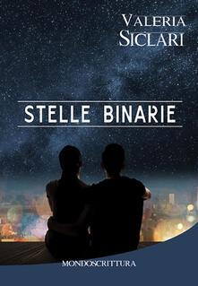 Stelle binarie - Valeria Siclari - copertina