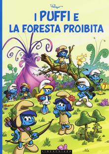 I puffi e la foresta proibita - Peyo - copertina