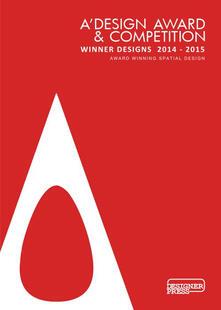 A Design Award. Spatial design 2014-2015. Ediz. illustrata - Onur Mustak Cobanli - copertina