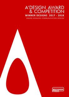 A' Design award & competition. Winner designs 2017-2018. Award winning communication design. Ediz. illustrata - Onur Mustak Cobanli - copertina