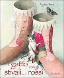 Il gatto con gli stivali... rossi - Ayano Imai - copertina
