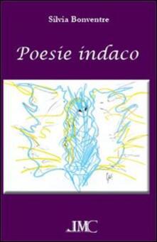 Poesie indaco - Silvia Bonventre - copertina