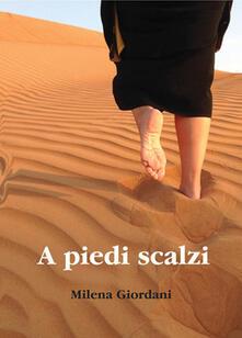 A piedi scalzi - Milena Giordani - copertina