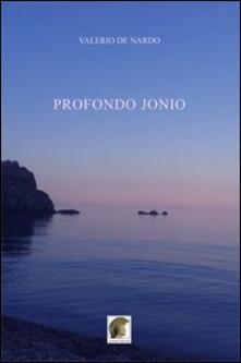 Profondo Jonio - Valerio De Nardo - copertina