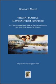 Virgini Mariae navigantium sospitae. La chiesa parrocchiale di Gallico marina nei suoi due secoli di storia - Domenico Mazzù - copertina