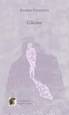 Glicine - Andrea Giordano - copertina