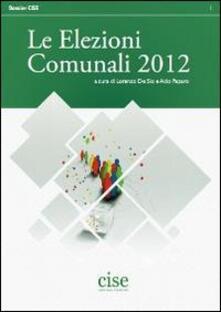 Le elezioni comunali - copertina