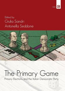 The primary games. Primary elections and the italian democratic party