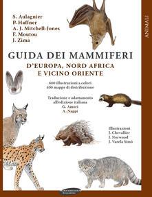 Guida dei mammiferi d'Europa, nord Africa e vicino Oriente - copertina